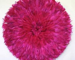 AK bamileke-hatt-fuchsia