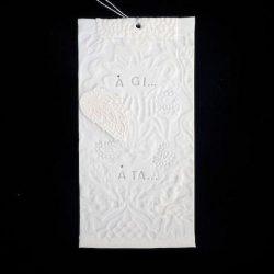 """LF prayer flag """"Å gi å ta"""""""