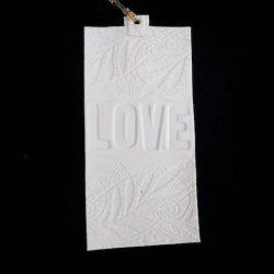 """LF prayer flag """"Love"""""""