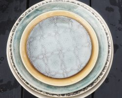 wonki ware plates collection